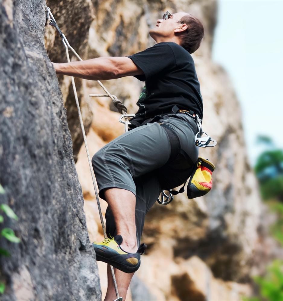Der ständige Blick nach oben ist beim Klettern mit Partner Grund für ein bekanntes Leiden im Kletter-Sport. Ein steifer Nacken mit schmerzhaften Verspannungen im Nackenbereich gehören ohne diese speziellen Brillen zur Tagesordnung.