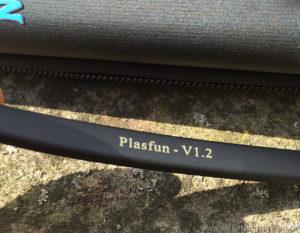 Die Plasfun wurde scheinbar schon mehrmals überarbeitet– ich habe offensichtlich die Version 1.2 bekommen.