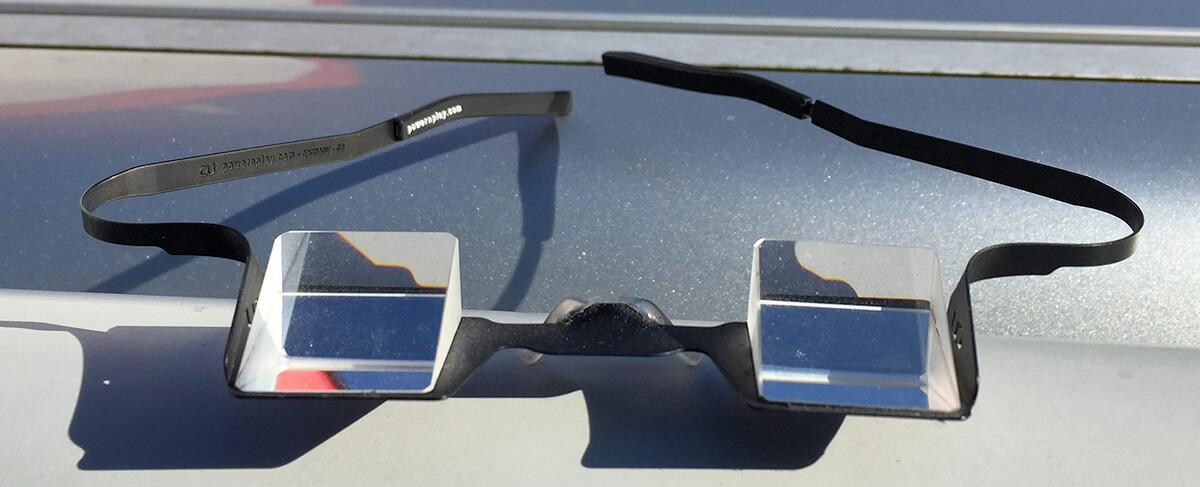 Die CU Sicherungsbrille von Power'n Play ist vermutlich die erste Prismenbrille, die ich am Markt entdeckt habe.